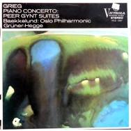 Edvard Grieg, Oslo Filharmoniske Orkester, Odd Grüner-Hegge, Kjell Bækkelund - Piano Concerto, Peer Gynt Suites