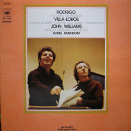 Joaquín Rodrigo / Heitor Villa-Lobos - John Williams, Daniel Barenboim, English Chamber Orchestra - Concierto De Aranjuez / Concerto For Guitar