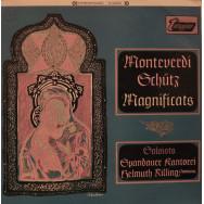 Spandauer Kantorei Instrumental Ensemble, Helmuth Rilling - Monteverdi - Magnificat / Schutz - Magnificat