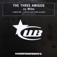 The Three Amigos - 25 miles