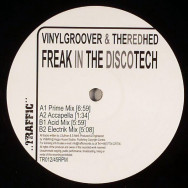 Vinylgroover & TheRedHed ‎– Freak In The Discotech