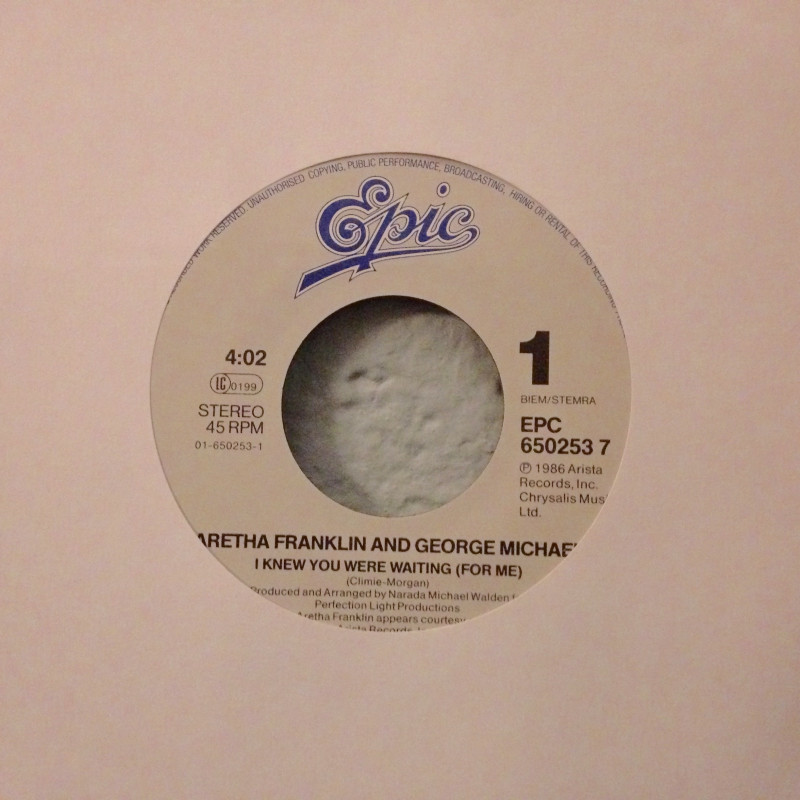 Aretha Franklin & George Michael - I knew you were waiting (for me)