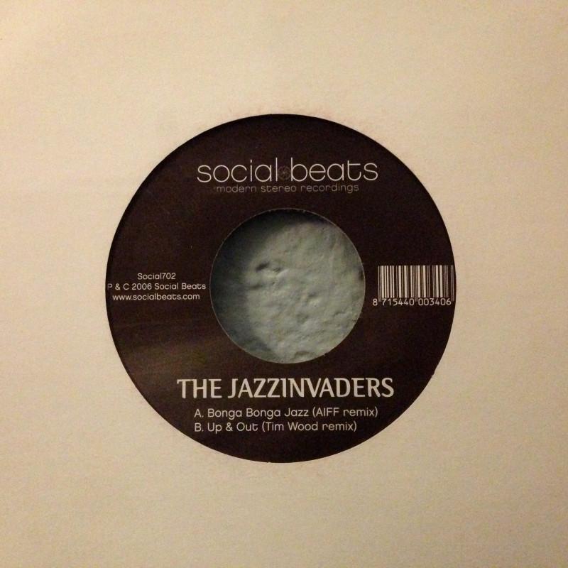 The Jazzinviders - Bonga Bonga Jazz / Up & Out