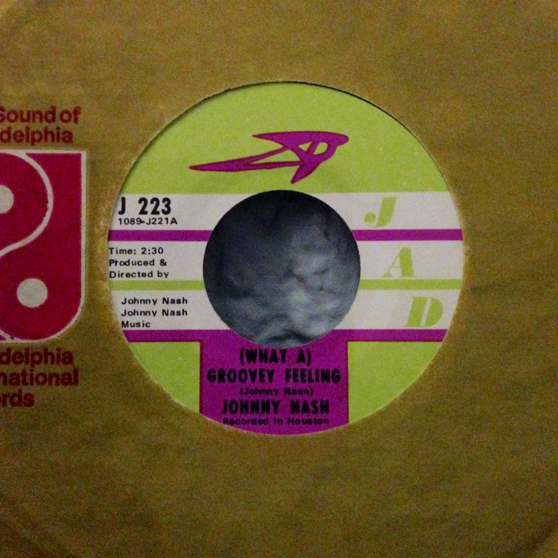 Johny Nash - You got soul - pt.1 / (What a) groovey feeling