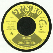 Stance Brothers ‎– Dynamite / She May Be Moody