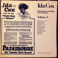 Ida Cox - Paramount Recordings in six Volumes, Volume 3