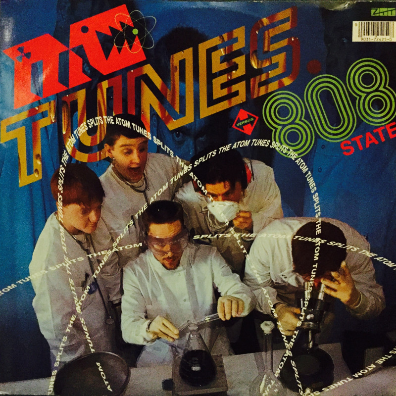 Mc Tunes vs 808 State - Tunes splits the Atom