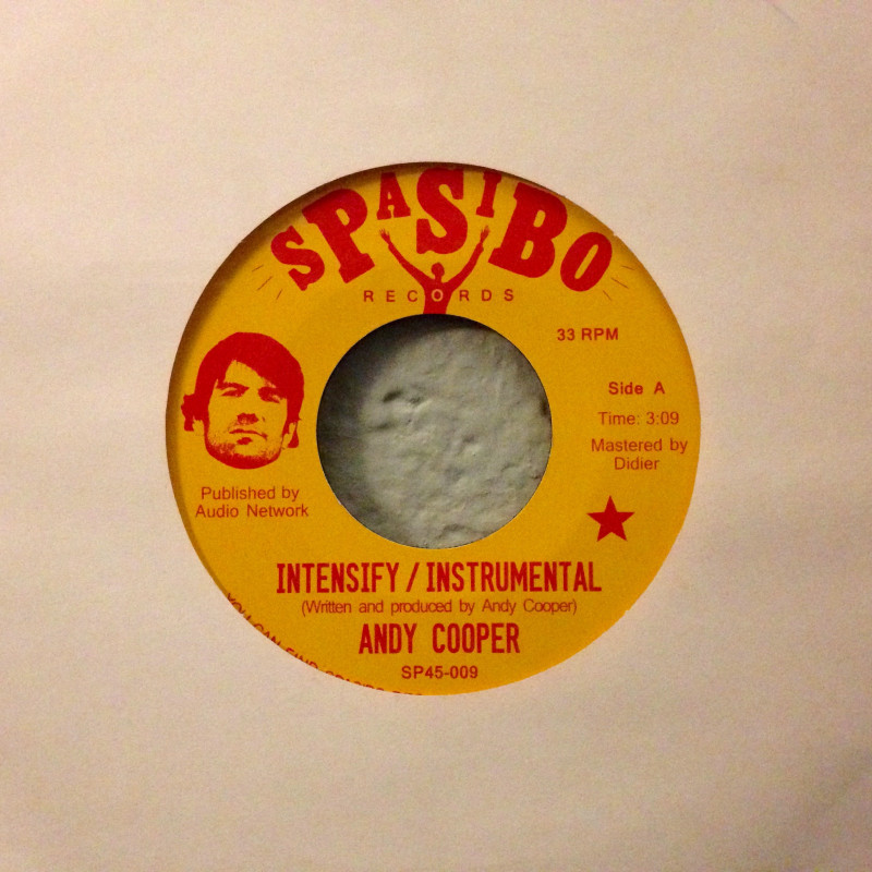 Andy Cooper - Intensify / Have a good time