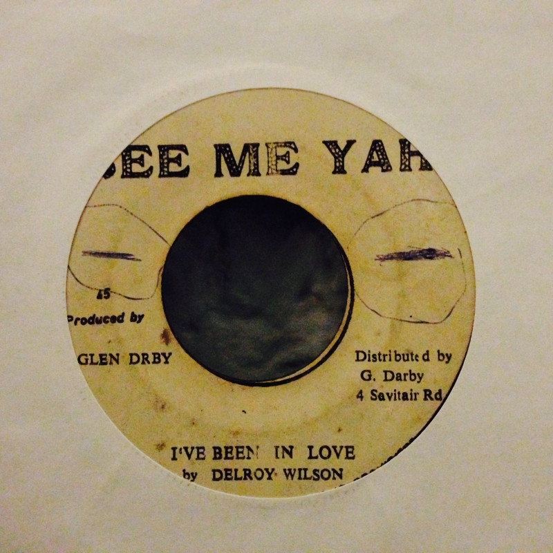 Delroy Wilson I`ve been in love / Version